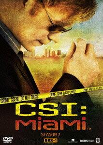CSI:マイアミ シーズン7 コンプリートDVD BOX-1 [ デヴィッド・カルーソ ]