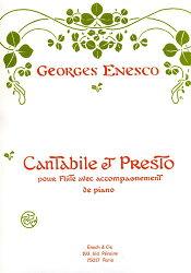 【輸入楽譜】エネスコ, Georges: カンタービレとプレスト