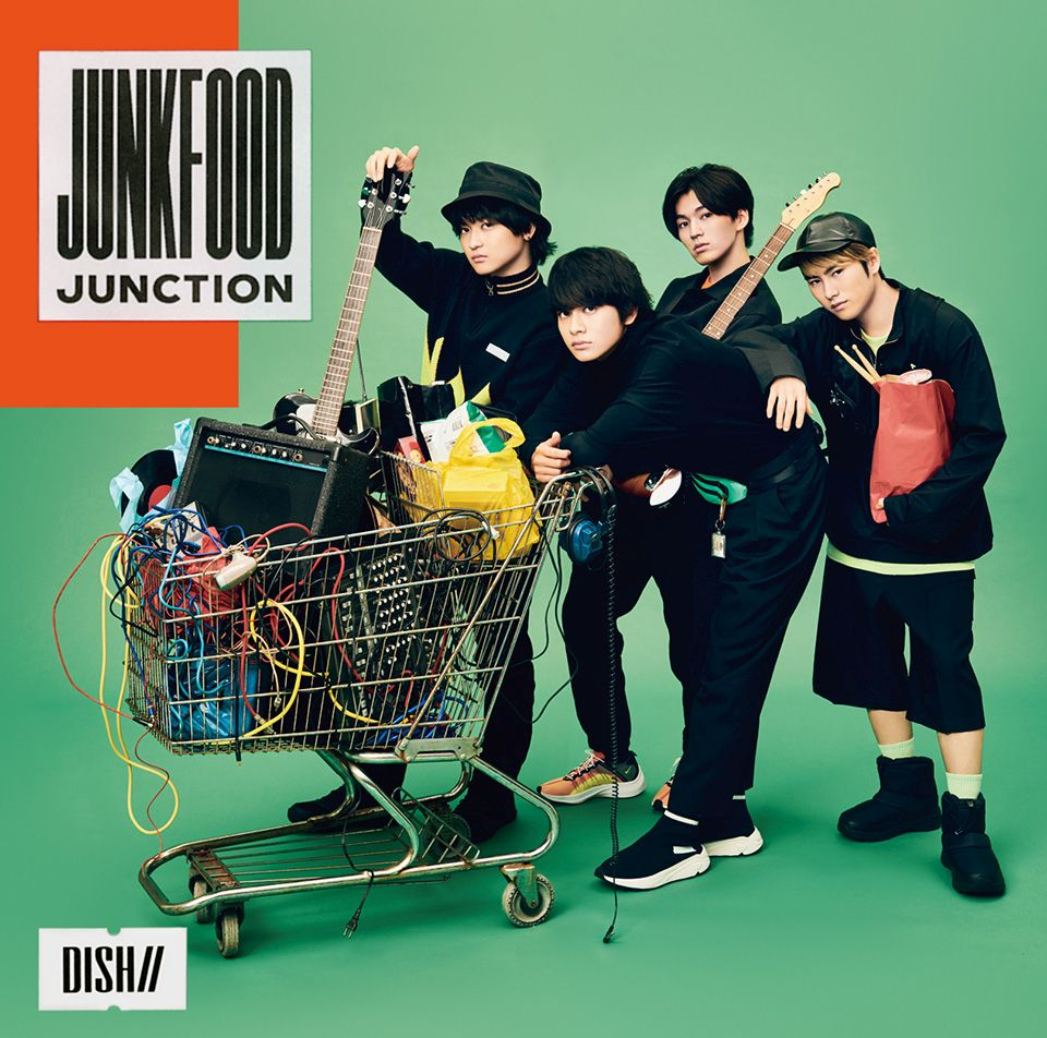 Junkfood Junction (初回限定盤A CD+DVD) [ DISH// ]