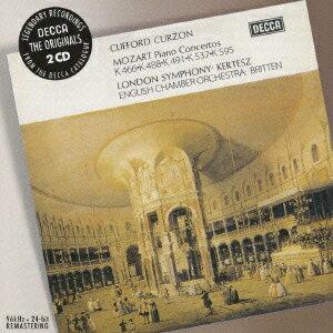 モーツァルト:ピアノ協奏曲 第20・23・24番・第26番≪戴冠式≫・第27番 [ クリフォード・カーゾン ]