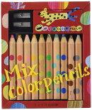 ミックス色鉛筆 10本