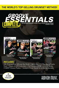 TommyIgoe-GrooveEssentials1.0/2.0Complete:Includes2Books,2DVDs,and2Posters[TommyIgoe]