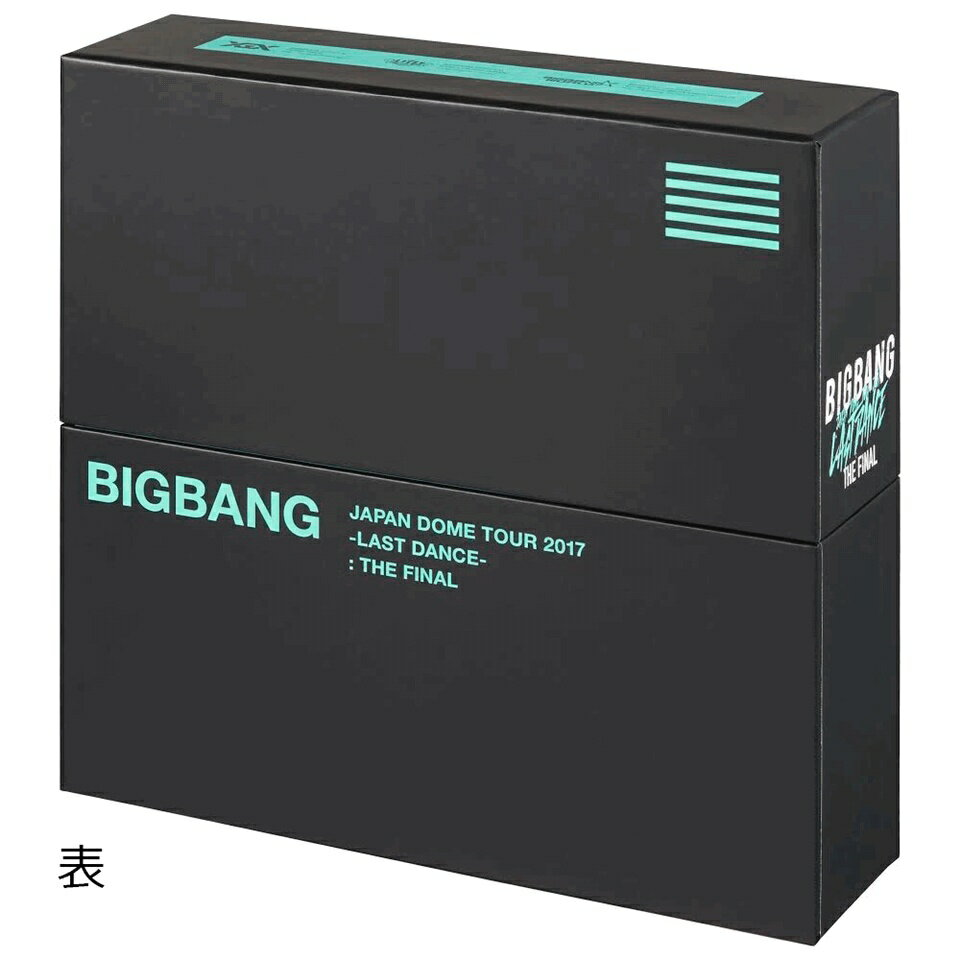 BIGBANG JAPAN DOME TOUR 2017 -LAST DANCE- : THE FINAL(Blu-ray Disc7枚組+CD2枚組 スマプラ対応+PHOTO BOOK)(初回生産限定盤)【Blu-ray】 [ BIGBANG ]
