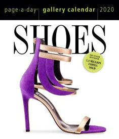 Shoes Page-A-Day Gallery Calendar 2020 CAL-2020 SHOES PAGE-A-DAY GALL [ Workman Calendars ]
