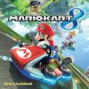 Mario Kart 2016 Wall Calendar