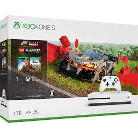 Xbox One S 1 TB (Forza Horizon 4 / Forza Horizon 4 LEGO Speed Champions 同梱版)