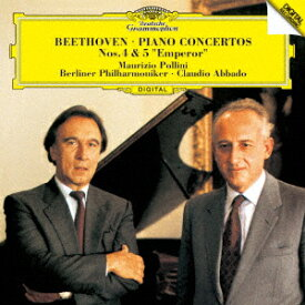 ベートーヴェン:ピアノ協奏曲第4番 ピアノ協奏曲第5番≪皇帝≫ [ ポリーニ アバド ]