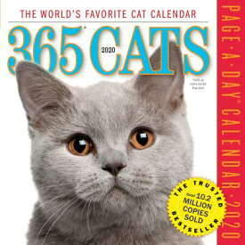 365 Cats Page-A-Day Calendar 2020 CAL-2020 365 CATS COLOR PAGE-A [ Workman Calendars ]