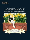 Cal 2017 American Cat 2017 Monthly Pocket Planner