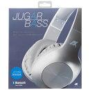 AXES JUGAR BASS BluetoothヘッドフォンAH-BT585 シルバー