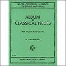 【輸入楽譜】バイオリンとチェロのための6つの古典的作品集