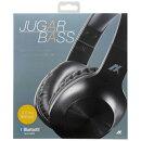 AXES JUGAR BASS BluetoothヘッドフォンAH-BT585 ブラック