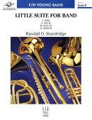 【輸入楽譜】スタンドリッジ, Randall D.: バンドのための小組曲: スコアとパート譜セット
