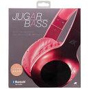 AXES JUGAR BASS BluetoothヘッドフォンAH-BT585 レッド