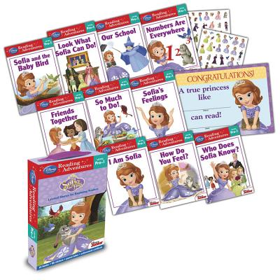 Sofia the First, Reading Adventures Level Pre-1 BOXED-SOFIA THE 1ST READIN 10V (Reading Adventures) [ Disney Book Group ]