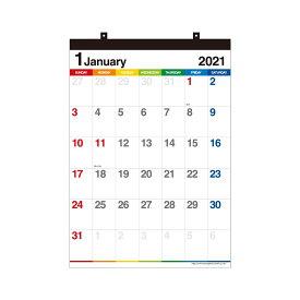 エトランジェ カレンダー 2021年 壁掛け B3 数字 CLV-B3-12 カレンダー (カレンダー)