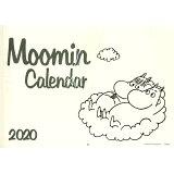 ムーミン壁掛けカレンダー モノトーン(2020) ([カレンダー])