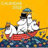 ムーミン壁掛けカレンダー オレンジ(2020) ([カレンダー])