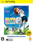 みんなのGOLF 6 PlayStation Vita the Best