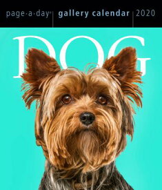 Dog Page-A-Day Gallery Calendar 2020 CAL-2020 DOG PAGE-A-DAY GALLER [ Workman Calendars ]