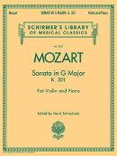 Sonata in G Major, K301: Schirmer Library of Classics Volume 2067 for Violin and Piano