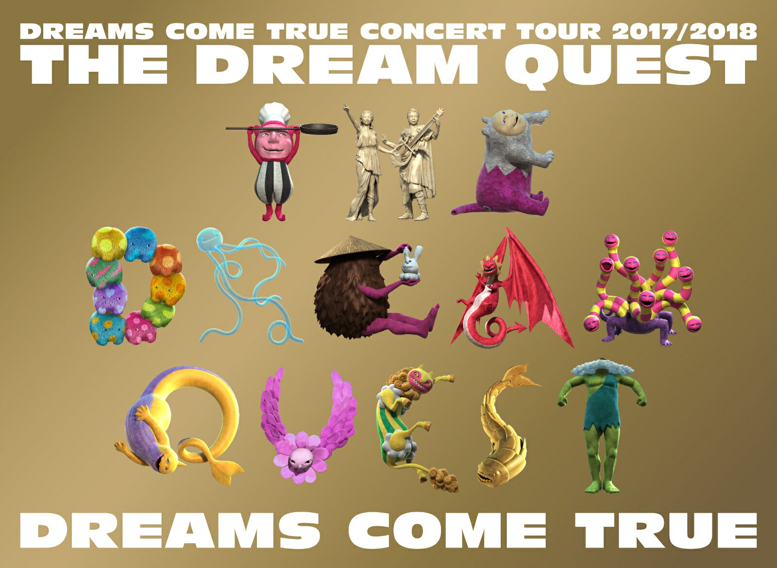 DREAMS COME TRUE CONCERT TOUR 2017/2018-THE DREAM QUEST-【Blu-ray】 [ DREAMS COME TRUE ]