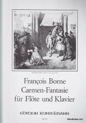 【輸入楽譜】ビゼー, Georges/ボルヌ, Francois: カルメン・ファンタジー