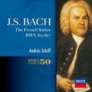 J.S.バッハ:フランス組曲全曲、イタリア協奏曲
