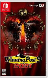 【特典】Winning Post 9 2021 Switch版(【早期特典】歴代個性派逃げ馬 購入権セット 全5頭)