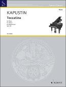 【輸入楽譜】カプースチン, Nikolai: トッカティーナ Op.36