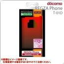 REGZA Phone T-01D用グラデーションシェルジャケット/ブラックレッド