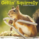Getting Squirrelly 2018 Wall Calendar