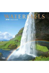 2018WaterfallsWallCalendarCAL2018-WATERFALLSWALLCAL[IncBrowntroutPublishers]