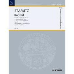 【輸入楽譜】シュターミッツ, Karl: フルート協奏曲 ト長調 Op.29
