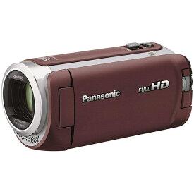 Panasonic デジタルハイビジョンビデオカメラ (ブラウン) HC-WZ590M-T