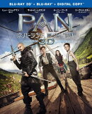 PAN〜ネバーランド、夢のはじまり〜 3D & 2D ブルーレイセット(2枚組/デジタルコピー付)【初回生産限定】【Blu-r…