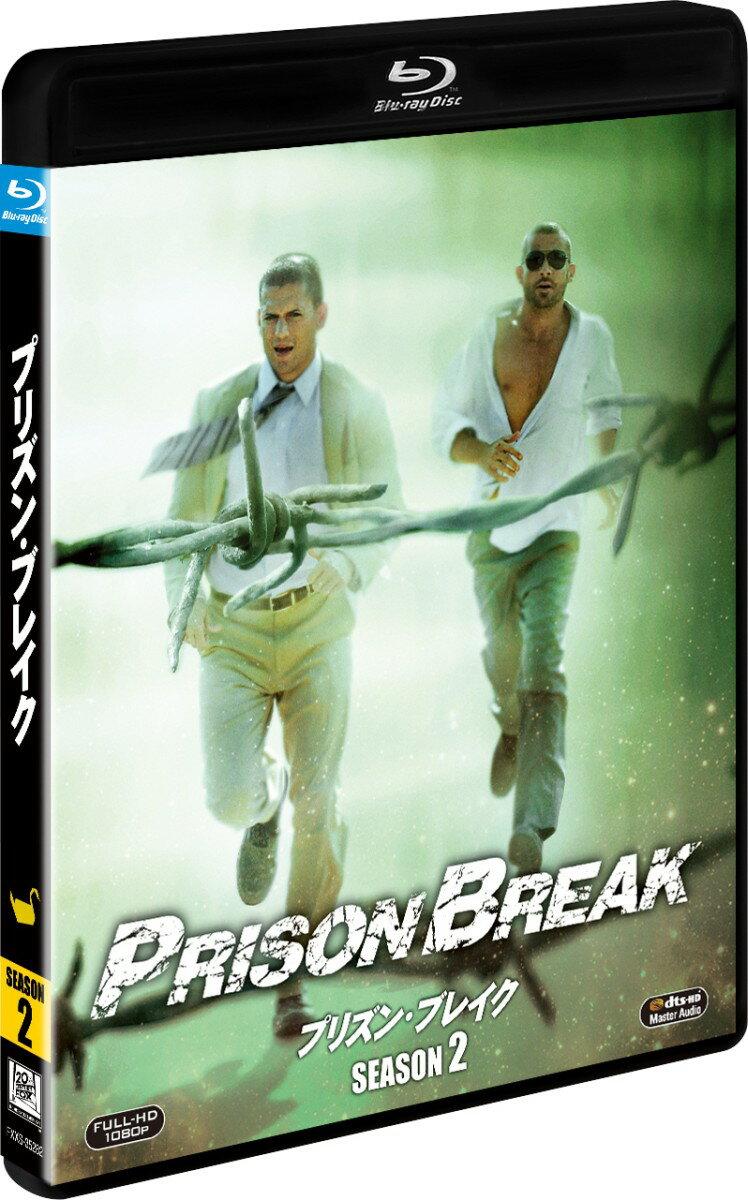 プリズン・ブレイク シーズン2<SEASONS ブルーレイ・ボックス>【Blu-ray】 [ ウェントワース・ミラー ]