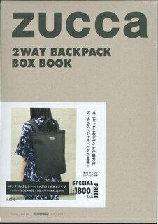 ZUCCa 2WAY BACKPACK BOX BOOK ([バラエティ])