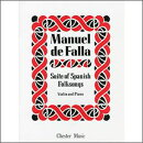 【輸入楽譜】ファリャ, Manuel de: スペイン民謡によるバイオリンのための組曲