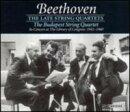 【輸入盤】String Quartet.12, 13, 14, 15, 16, Great Fugue: Budapest Q