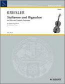 【輸入楽譜】クライスラー, Fritz: フランクールの様式によるシチリアーノとリゴードン