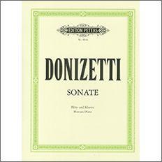 【輸入楽譜】ドニゼッティ, Gaetano: ソナタ
