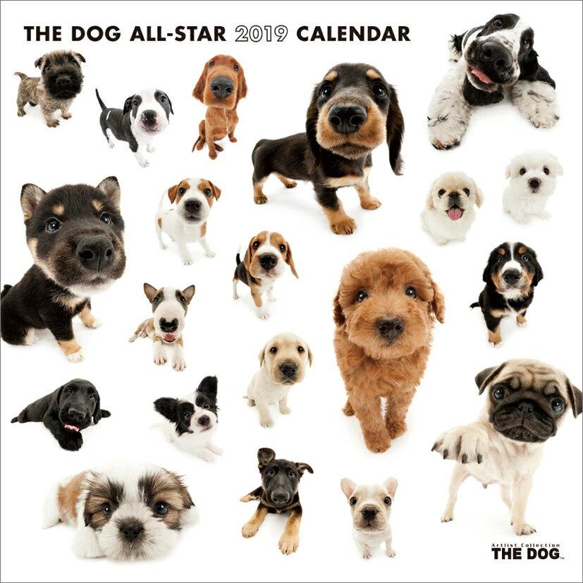 THE DOG ALL-STAR(2019年1月始まりカレンダー)