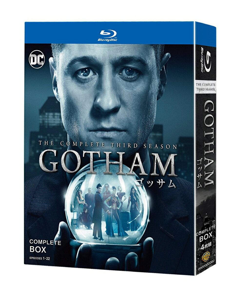 GOTHAM/ゴッサム <サード・シーズン> コンプリート・ボックス(期間限定:DCステッカー付き)【Blu-ray】 [ ベン・マッケンジー ]
