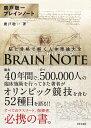 廣戸聡一ブレインノート 脳と骨格で解く人体理論大全 [ 廣戸 聡一 ]