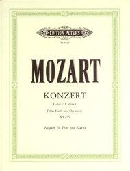 【輸入楽譜】モーツァルト, Wolfgang Amadeus: フルートとハープのための協奏曲 ハ長調 KV 299