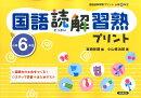 国語読解習熟プリント(小学6年生)