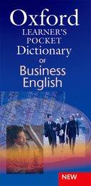Oxford Learner's Pocket Dictionary of Business English Paperback