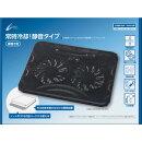 CYBER ・ クーリングパッド ( PS4 用) ブラック