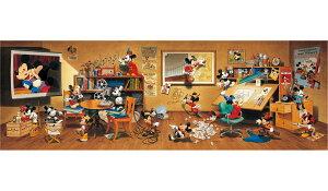 ディズニー ジグソーパズル 歴代ミッキーマウス大集合! 【456ピース】(18.5X55.5cm) 456ピース